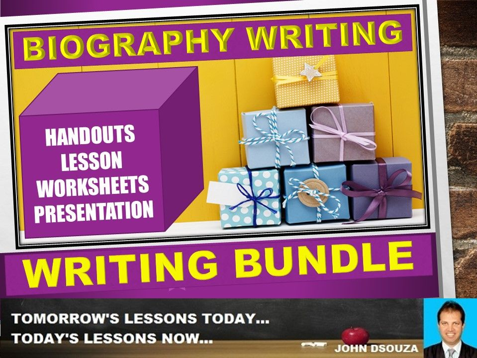 BIOGRAPHY WRITING: BUNDLE