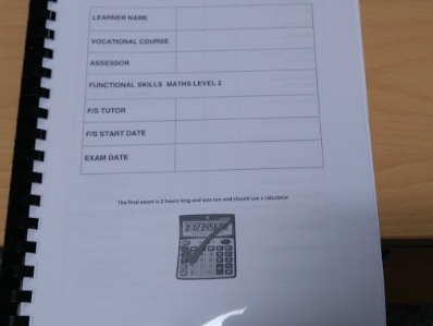 Functional skills maths whole year workbook or Revision 200+pages.  Level 2.Great for apprentices.