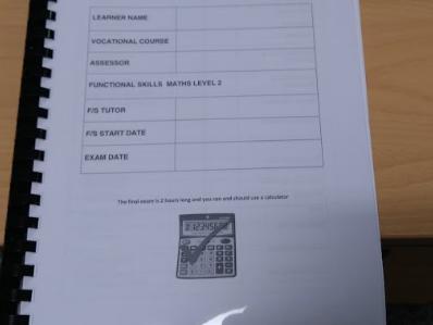 New Edexcel Functional Skills on-line practice tests