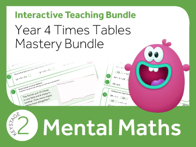 Year 4 Times Tables Mastery Bundle
