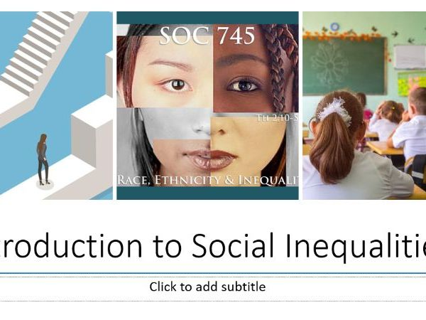 Social Inequality - Class, Gender and Ethnicity inc. soc. perspectives.  Housing, Health & Education