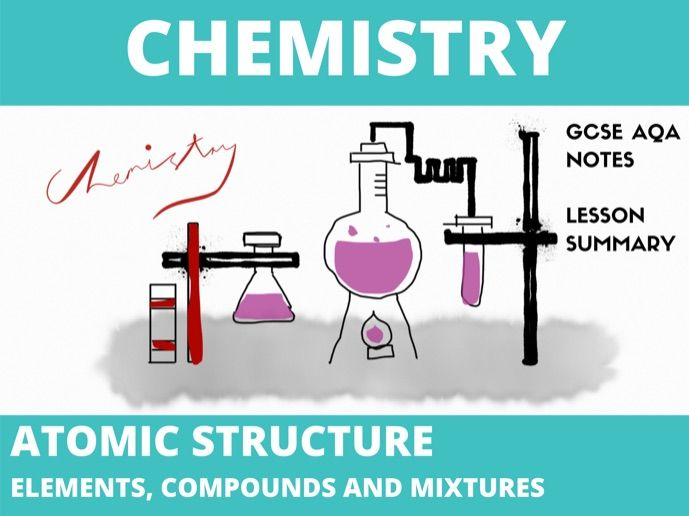 Chemistry Atomic Structure Notes GCSE ( Elements, Compounds and Mixtures)