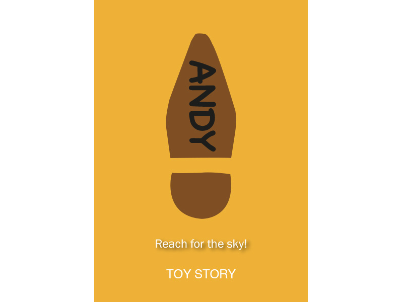 Toy Story - Illustrated Poster