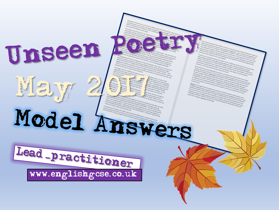 Model Answers May 2017