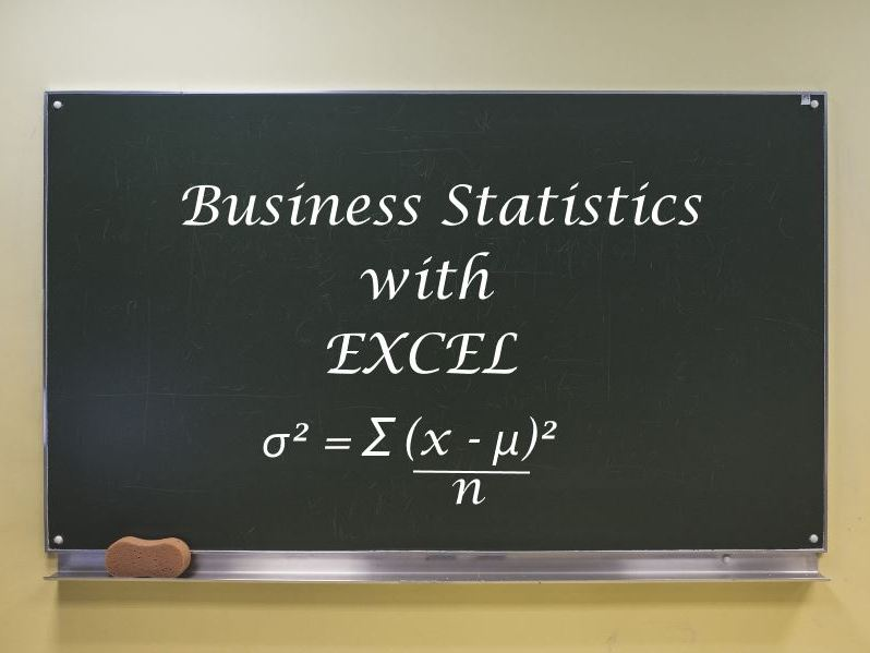 Business Statistics with Excel