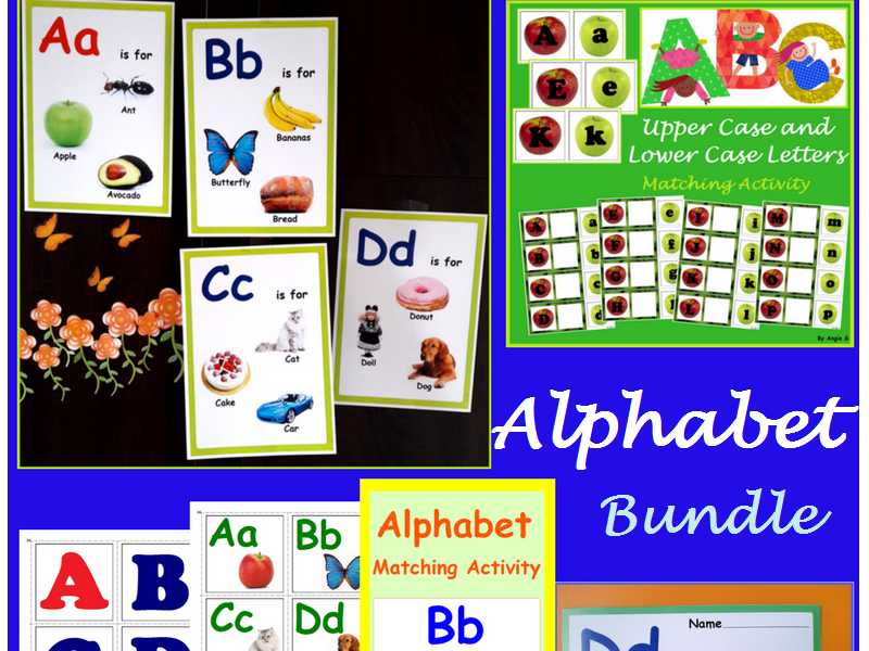 Alphabet Packet - Possters, Cards and Activities, Classroom Decor