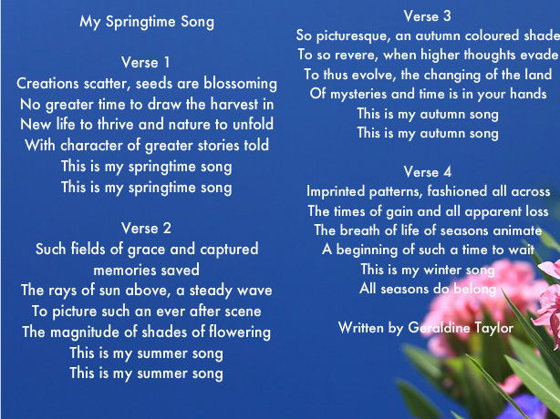 My Springtime Song
