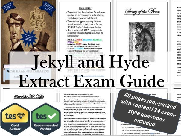 Jekyll and Hyde - GCSE Extract Exam Practice Revision Guide