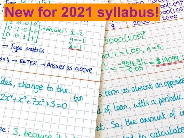 IB Maths AI SL - Topic 1 Algebra Notes