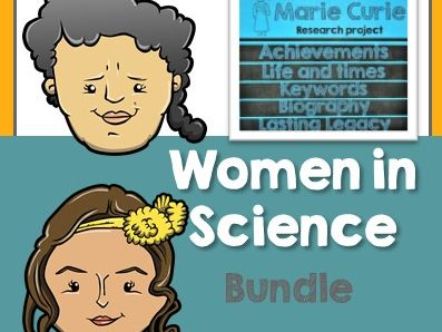 Women in Science Research Task - BUNDLE