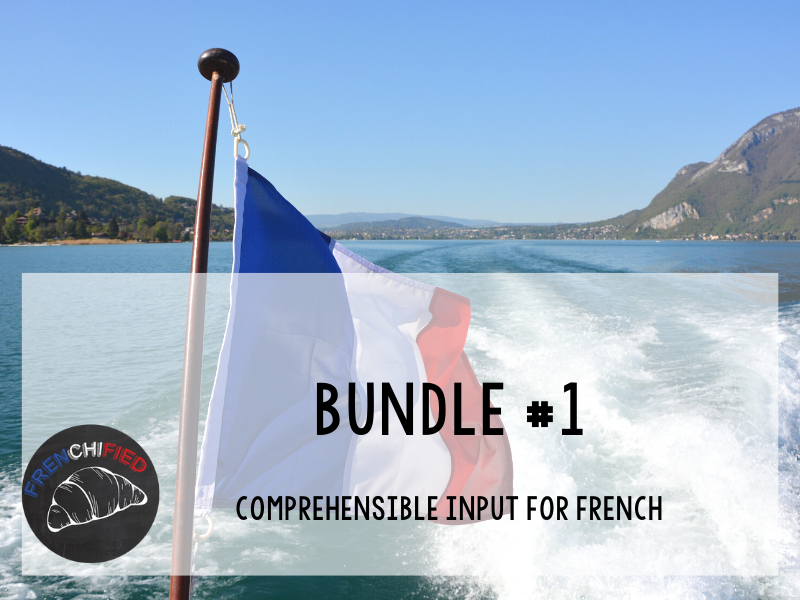 CI Video for French learners - Bundle #1