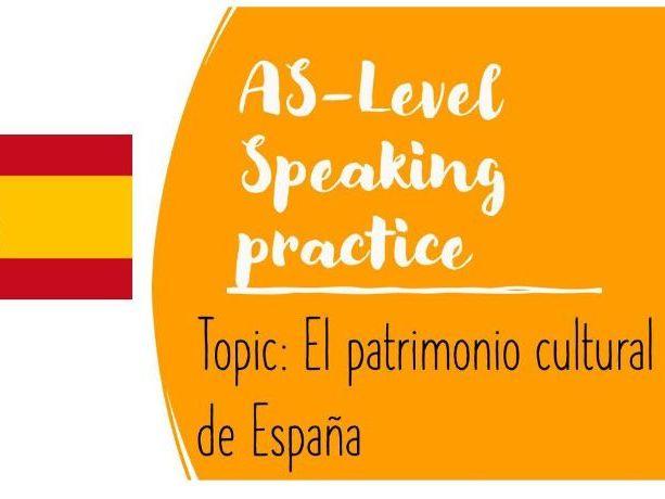 As Speaking Conversational El Patrimonio Cultural