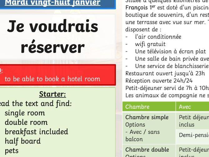 Reserver - Hotel
