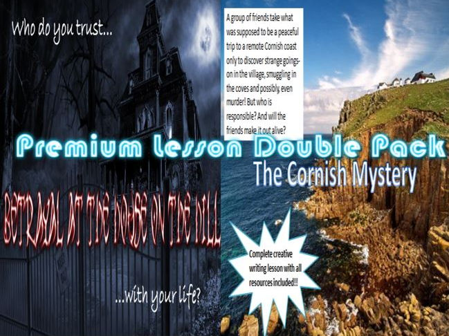 Premium Lesson Double Pack - Betrayal on House on the Hill/The Cornish Mystery