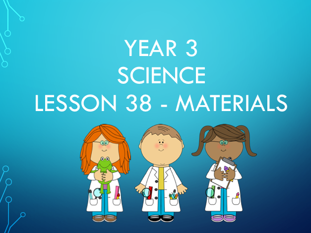 Gade 3 Science - Materials - Paper (including and experiment)