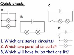 Current Electricity and Circuits Year 7 Topic- 5 full lessons (KS3 7J) Electrical
