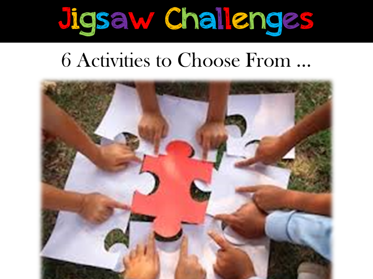 Back to School: Jigsaw Activities: Interactive Activities: Critical Thinking