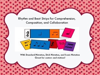 Beat & Rhythm Strips-Regular, Stick, & Iconic