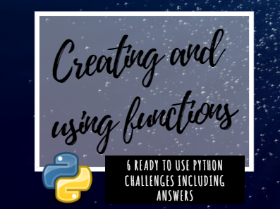 Python functions