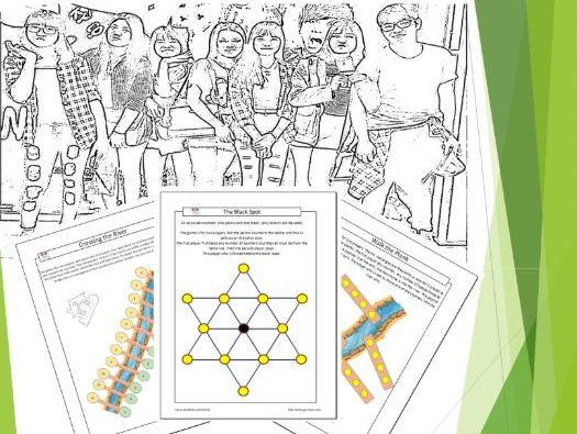 Math Board Games Book