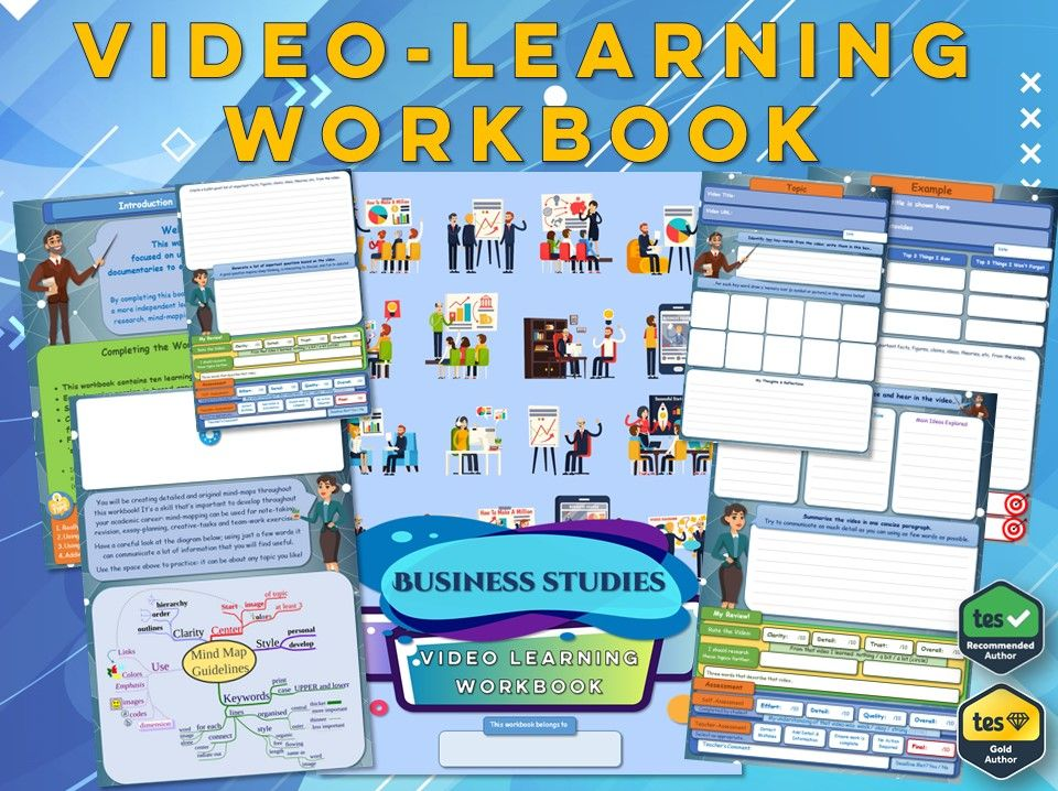 GCSE Business Studies - Workbook [Video Learning Workbook]