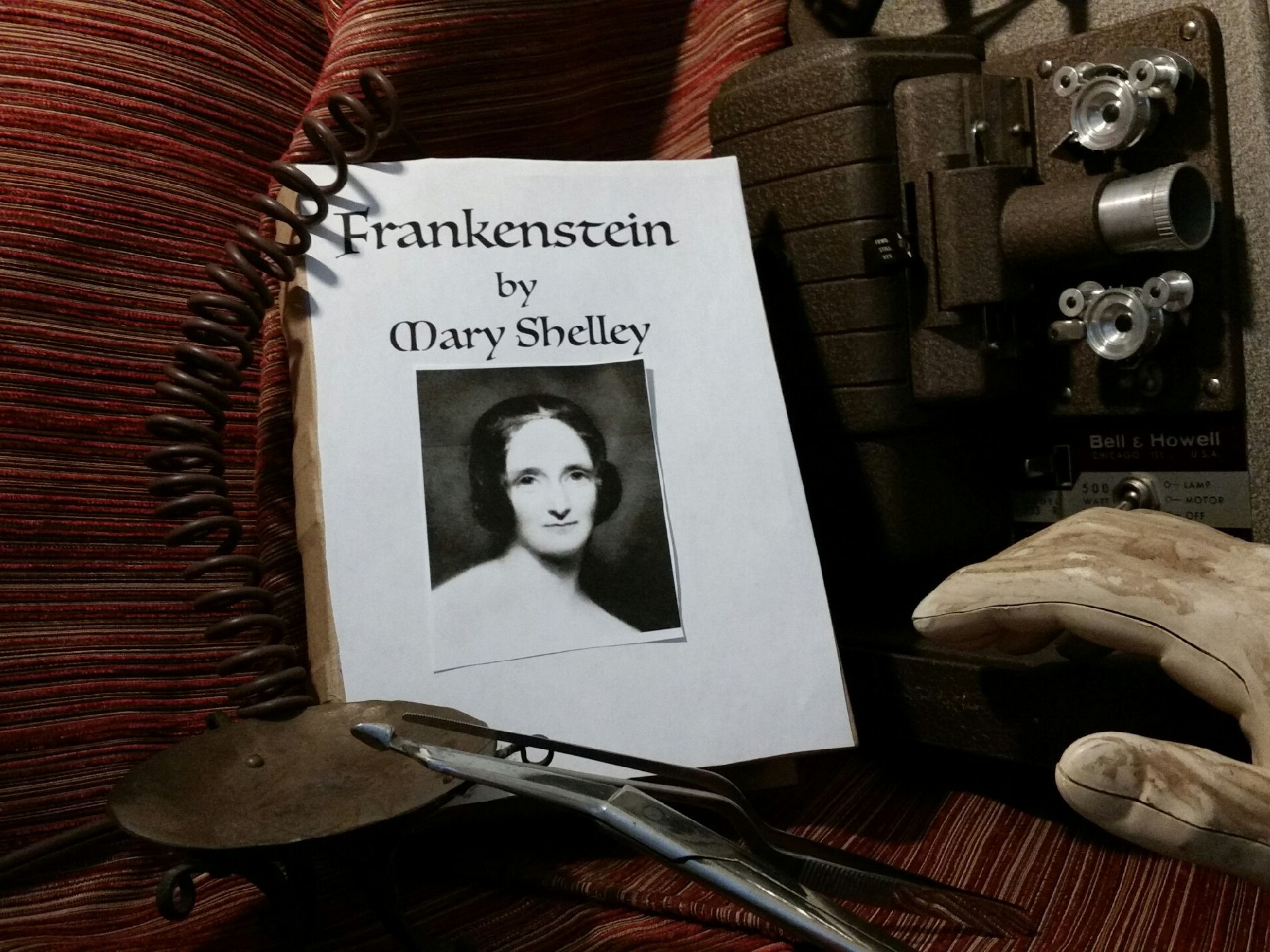 "Lights! Camera! Literature! It's  Halloween? How about""Frankenstein""!"