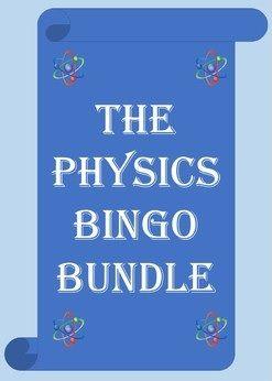 GCSE/High School Physics Bingo Bundle