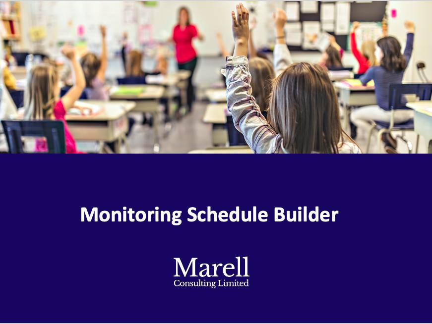 Monitoring Schedule Builder