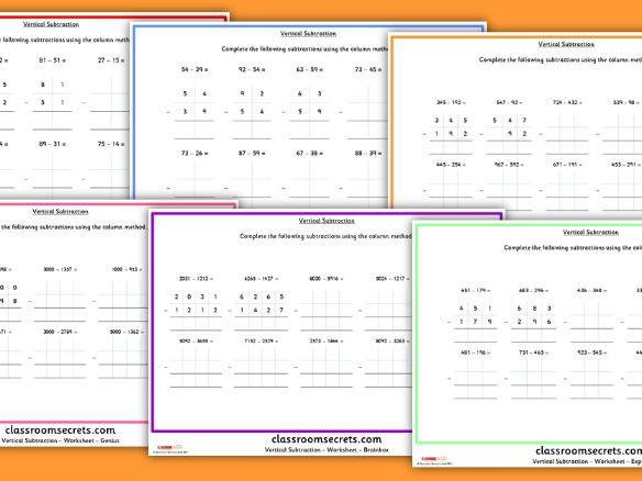 Factors worksheet ks2
