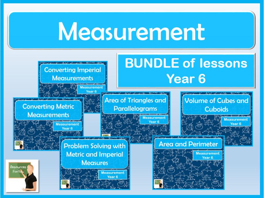 Maths Measurement Year 6