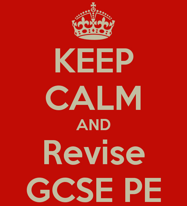 AQA GCSE PE - 20016 New spec - Revision - Broadsheets
