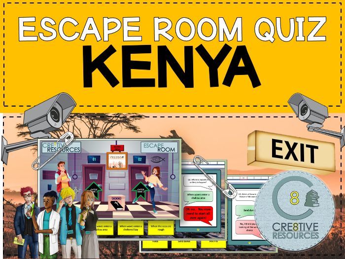 Kenya - Geography Escape Quiz