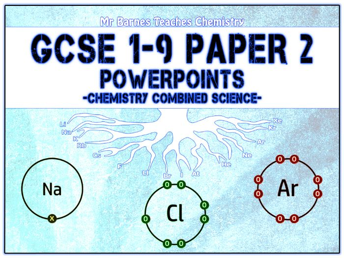 GCSE Combined Science 1-9 - Chemistry Paper 2 PowerPoints
