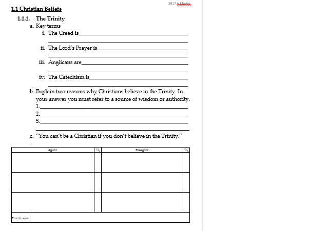 Families- Revision work sheet or plenary task- EDEXCEL GCSE RS B Christianity