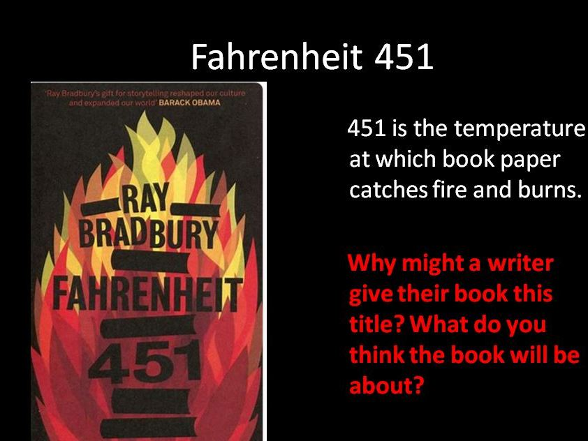 Fahrenheit 451: How does the writer present Montag?