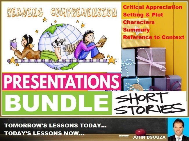 PROSE READING COMPREHENSION PRESENTATIONS: BUNDLE