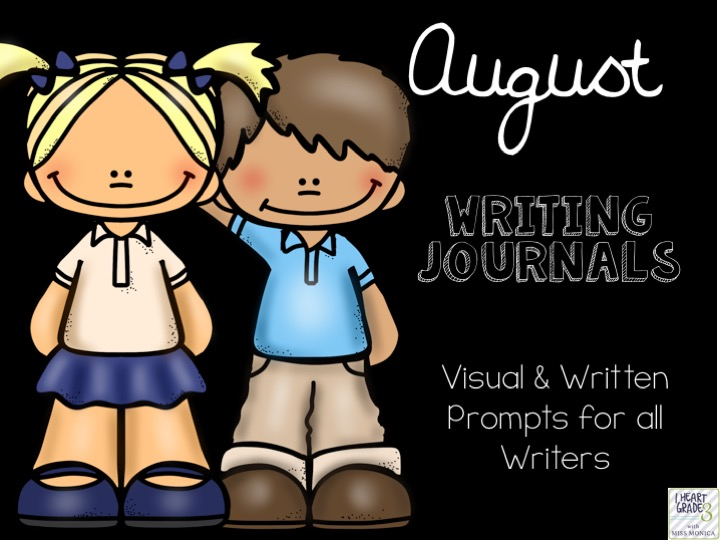 August Journals with Visual & Written Prompts