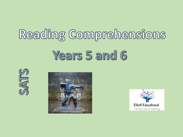 Reading Comprehensions for years 5 and 6