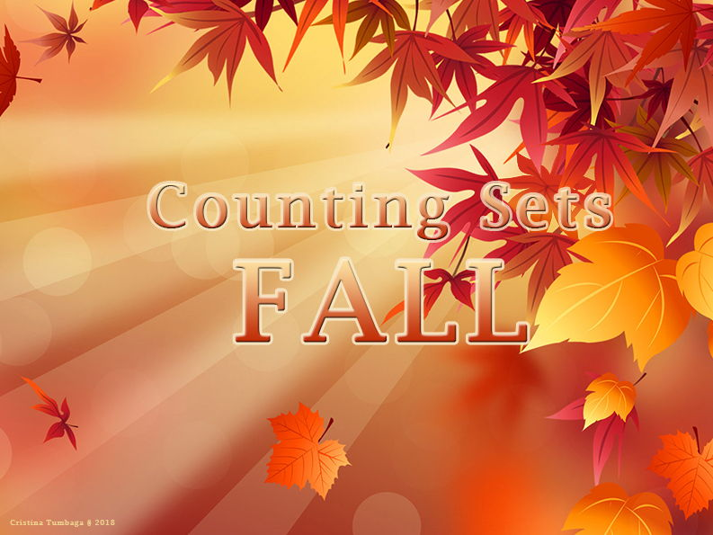 Counting Sets Fall Theme