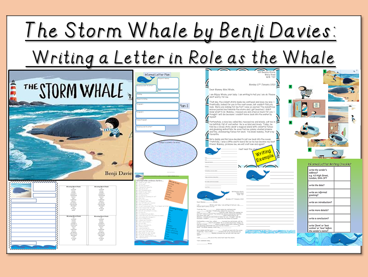 The Storm Whale-Writing a Letter in Role as the Whale
