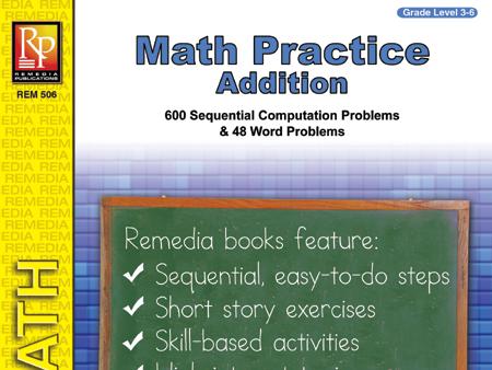 Addition: Math Practice