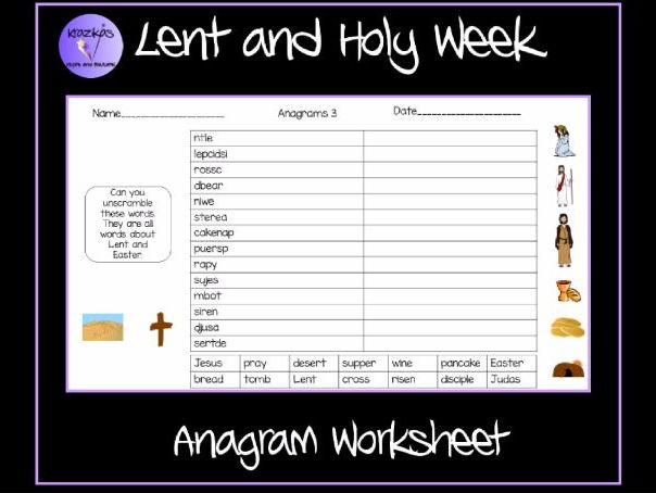 Consonant Digraphs Ch Sh Th Wh Worksheets Lent And Pancake Day Anagram Worksheet By Krazikas  Teaching  Multiplication Decimal Worksheets with What Is A Worksheet In Excel Pdf Lent And Pancake Day Anagram Worksheet By Krazikas  Teaching Resources   Tes 2nd Grade Addition Worksheets Printable Excel