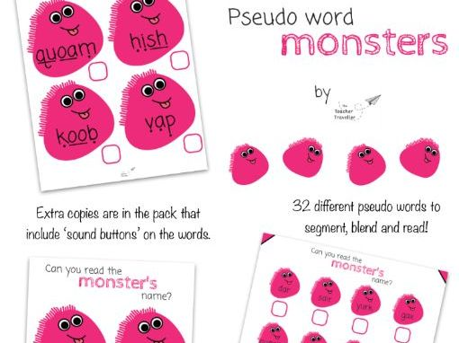 Pseudo Monster Words