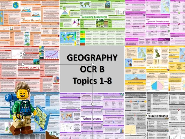 OCR B 9-1 GCSE Knowledge Organisers