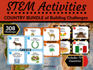 Bundle of STEM Activities | Countries