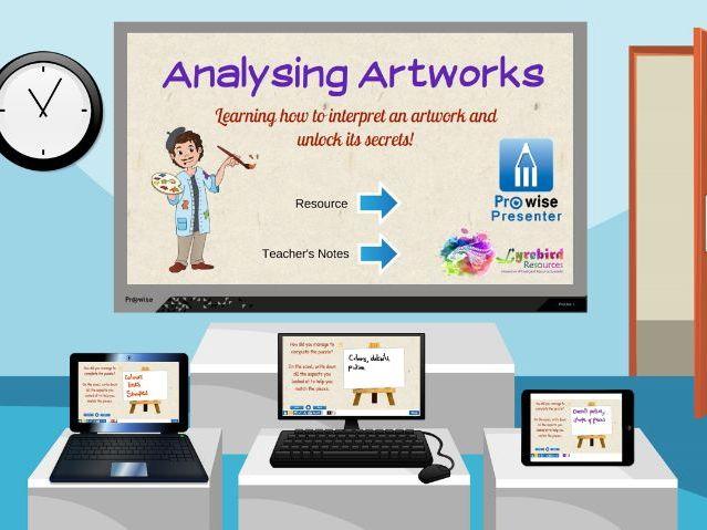 Analysing Artworks