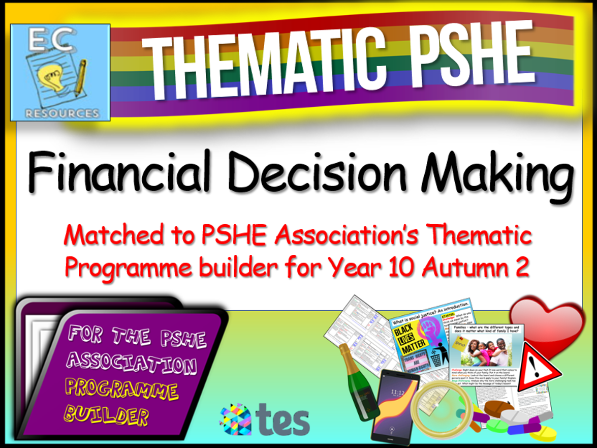 Thematic PSHE Financial Decision Making
