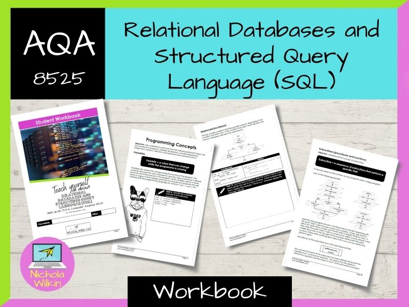 Relational databases and SQL AQA GCSE Computer Science Workbook (8525)