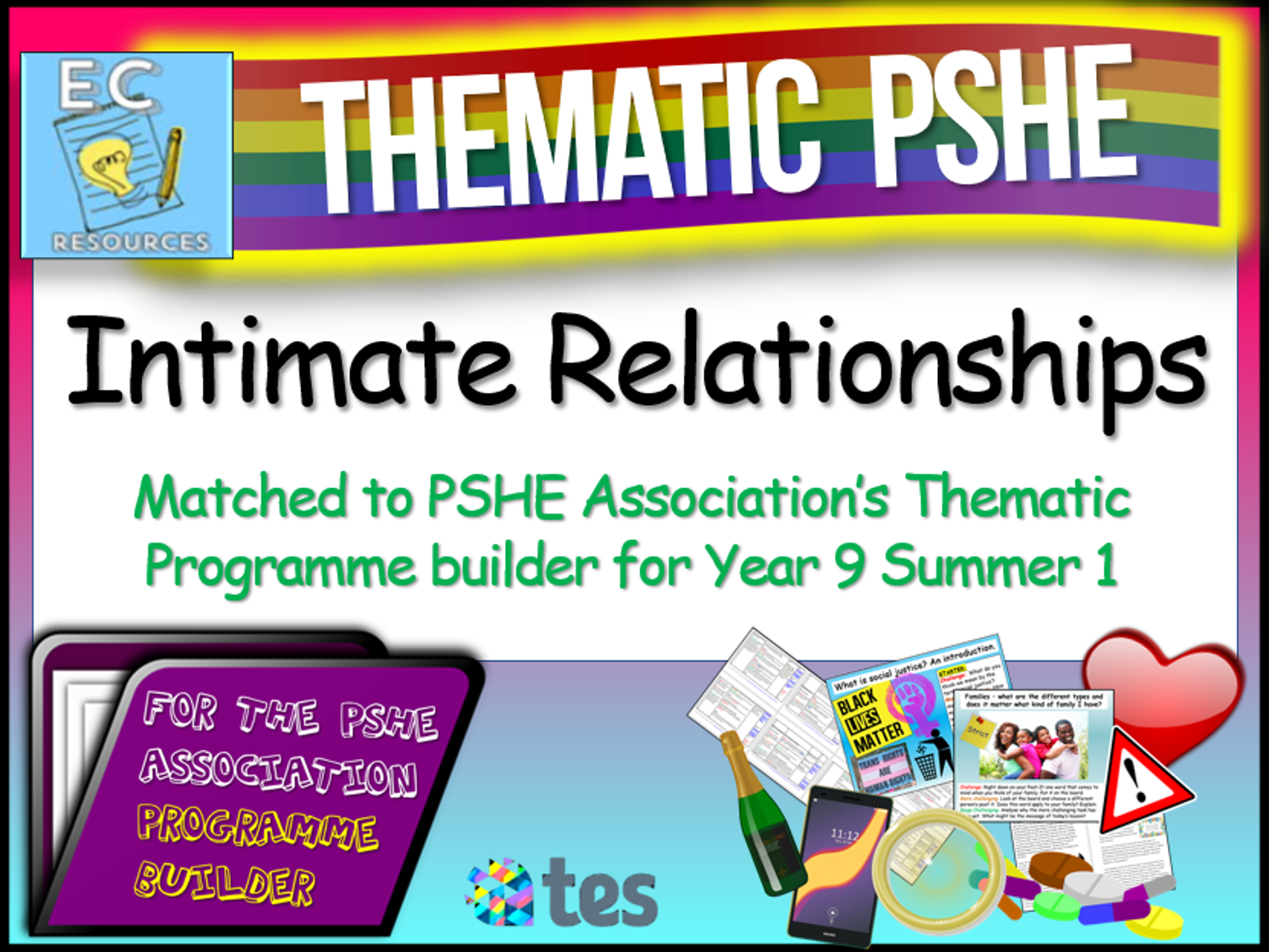 Intimate Relationships Thematic PSHE