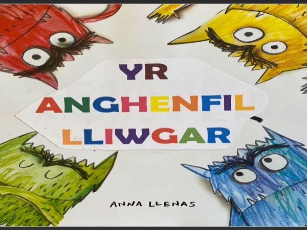 Colour Monster - Anghenfil Lliwgar